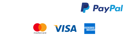 Powered by Stripe and Paypal