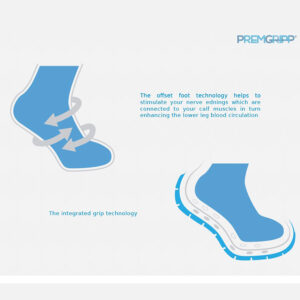 Premgripp socks with grips