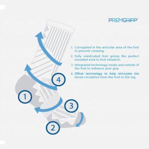 Premgripp sports socks
